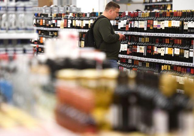俄罗斯酒类销量增加