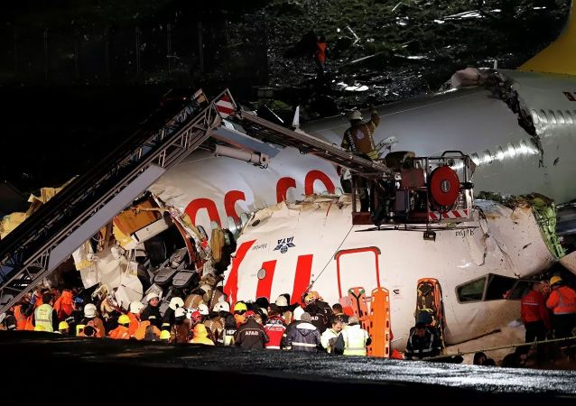 伊斯坦布尔机场一客机硬着陆致1死157伤