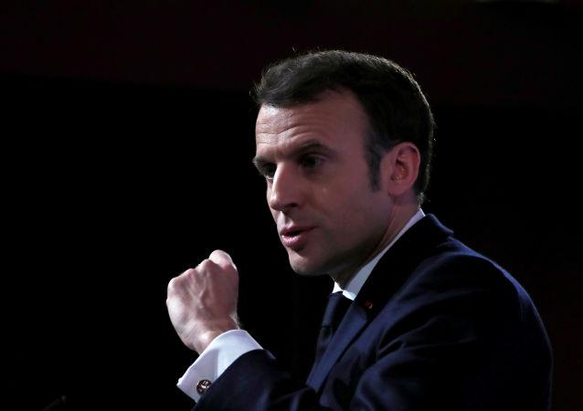 马克龙称下一代法国航母将采用核动力