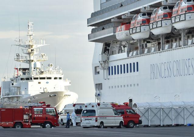 日本厚生劳动省:日本邮轮上新型冠状病毒感染者中没有俄罗斯公民