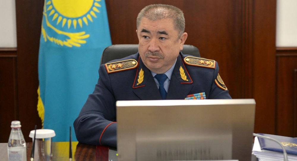 哈萨克斯坦内务部长图尔古姆巴耶夫
