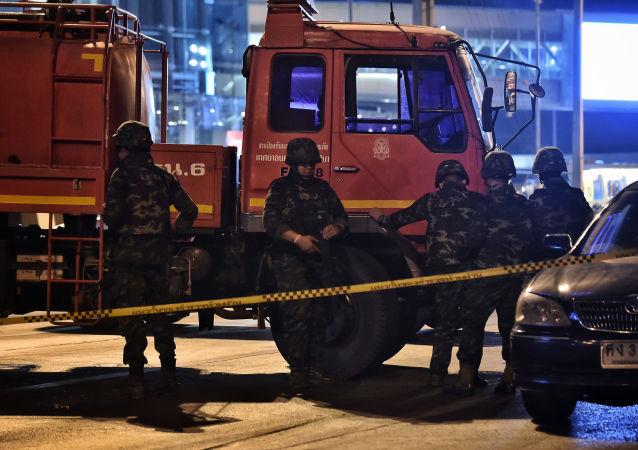 媒体:泰国呵叻府枪击案枪手被击毙