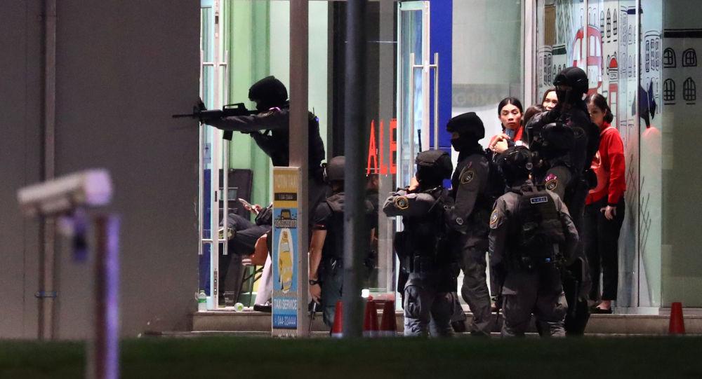 泰国总理:呵叻府枪击案造成包括凶手在内27人死亡