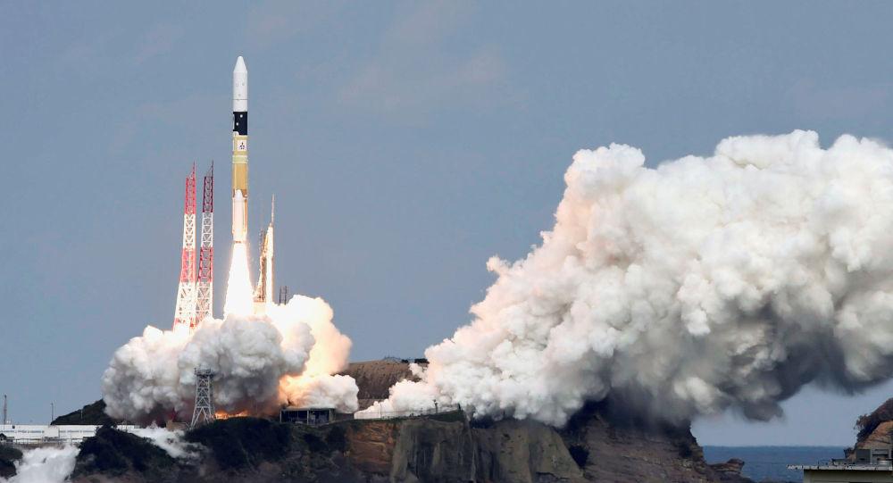 日本用H2A运载火箭成功发射一间谍卫星
