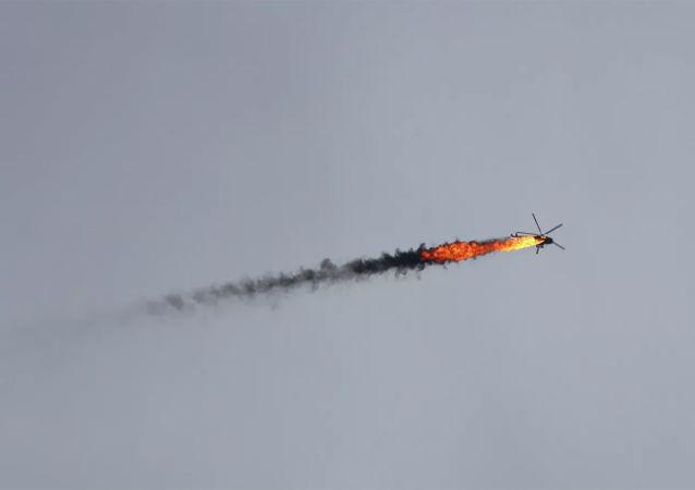 在伊德利卜被击落的直升机上的所有人全部丧生