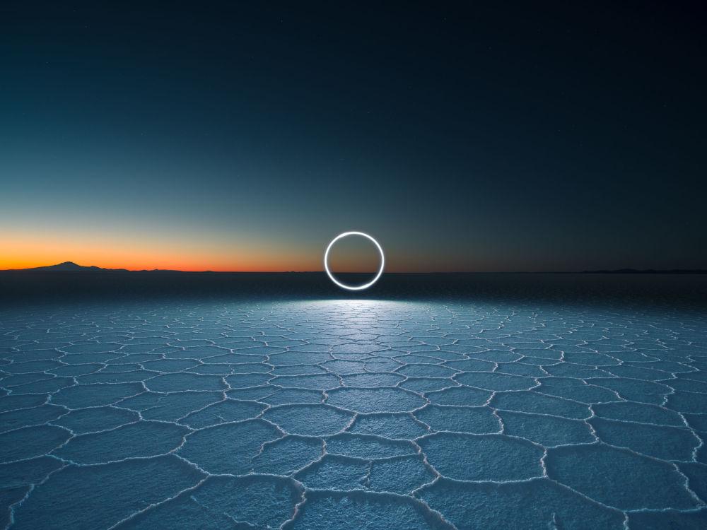 英国专业摄影师鲁本·吴的摄影系列《无尽之地》中的作品《XT1876》