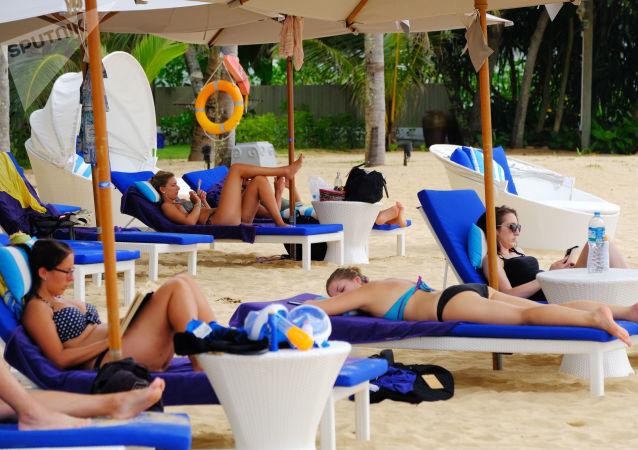 外游客在泰国