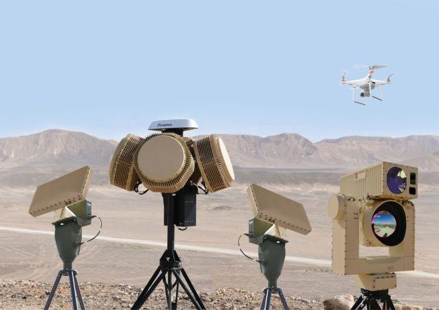 以色列防务公司研发的反无人机激光炮测试成功