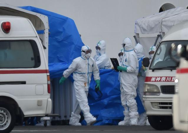 媒体:日本医疗机构因新冠患者人数剧增面临巨大压力