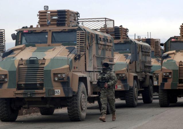 土耳其军在伊德利卜地区