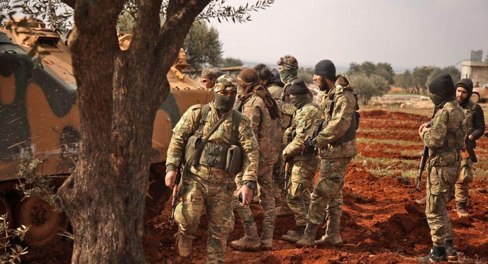 叙利亚军队控制着距叙土边境检查站7公里的阵地