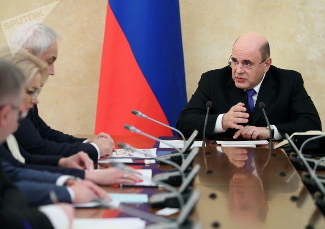 俄政府成立由总理领导的20人主席团