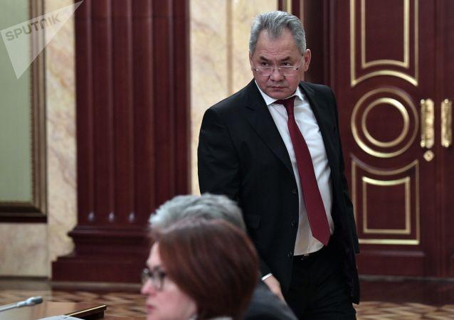 俄罗斯国防部长谢尔盖∙绍伊古