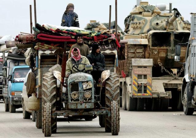 俄驻叙调解中心:有关约百万难民向叙土边界转移的说法未经证实