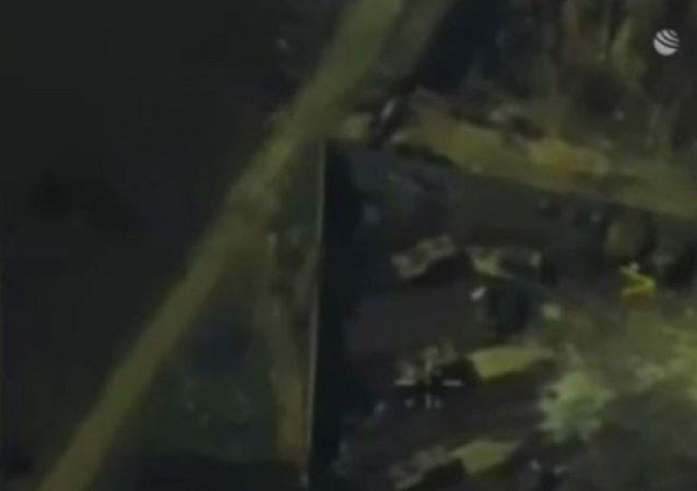 出现土耳其军队火力支持叙利亚武装分子的视频
