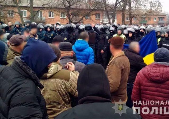 乌克兰国家警察局长称本国大规模抗议活动显著增长