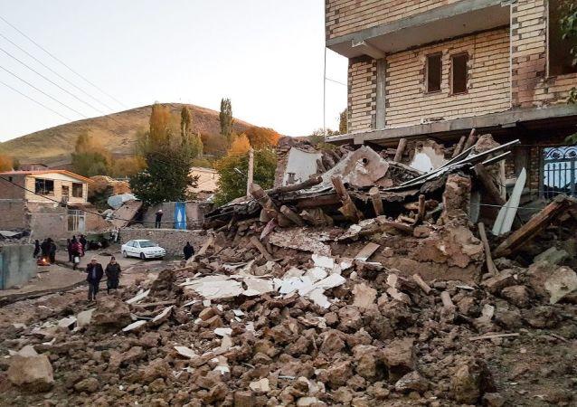 媒体:伊朗地震受伤人数增加到75人