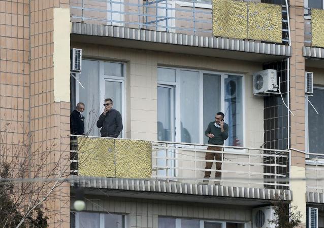 乌克兰禁止给从中国撤回的侨民送食物