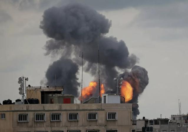 以色列军队发动袭击