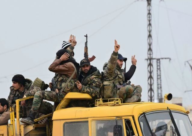 叙利亚政府军在伊德利卜省