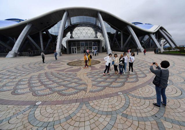 俄符拉迪沃斯托克滨海海洋水族馆