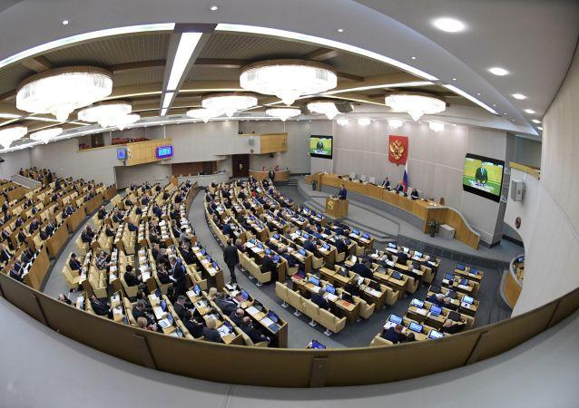 俄国家杜马三读通过宪法修正案草案