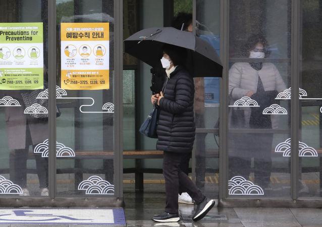 """韩国因冠状病毒出现""""只对韩国人服务""""的餐厅"""