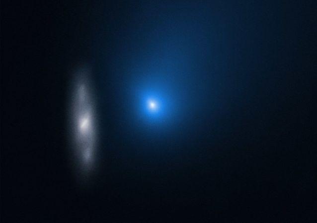 星际物体2I/Borisov与遥远的星系