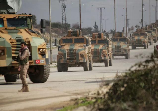 土耳其军队在叙利亚伊德利卜省