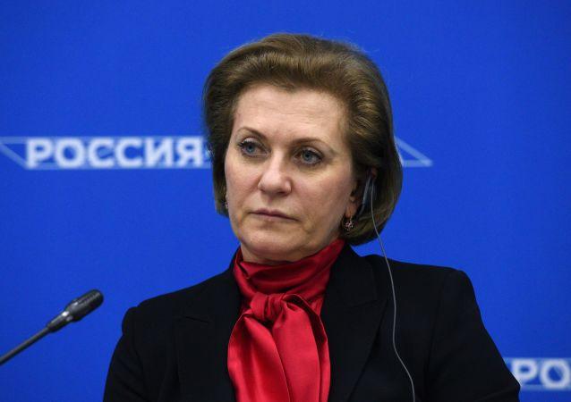 俄联邦消费者权益保护和公益监督局局长、总防疫医师安娜∙波波娃