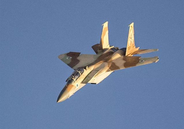 以色列战斗机打击从加沙地带起飞的无人机