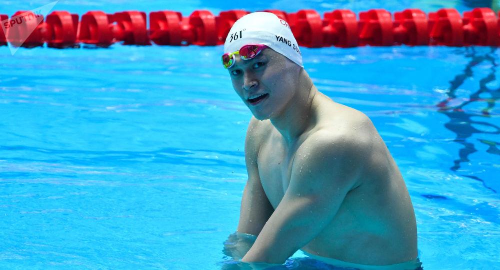 中国游泳运动员、三届奥运会冠军孙杨违反反兴奋剂规则,被禁赛八年