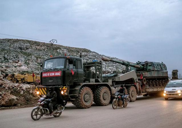 土耳其军在叙伊德利卜