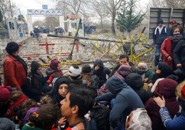 土耳其内政部:土欧边界开放后有3.6万移民进入欧盟