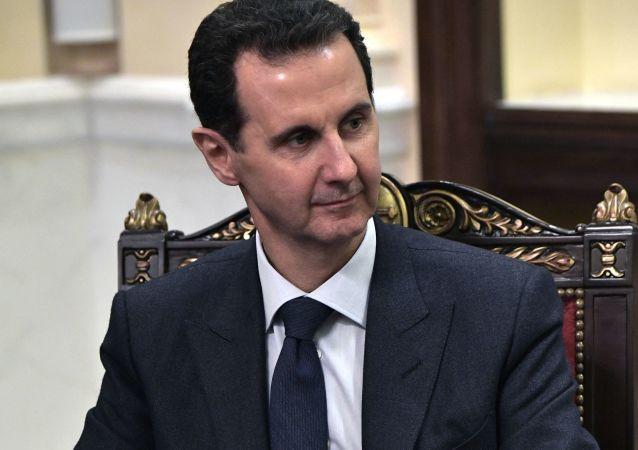 阿萨德:叙利亚应以增加生产和自给自足来回应美国制裁