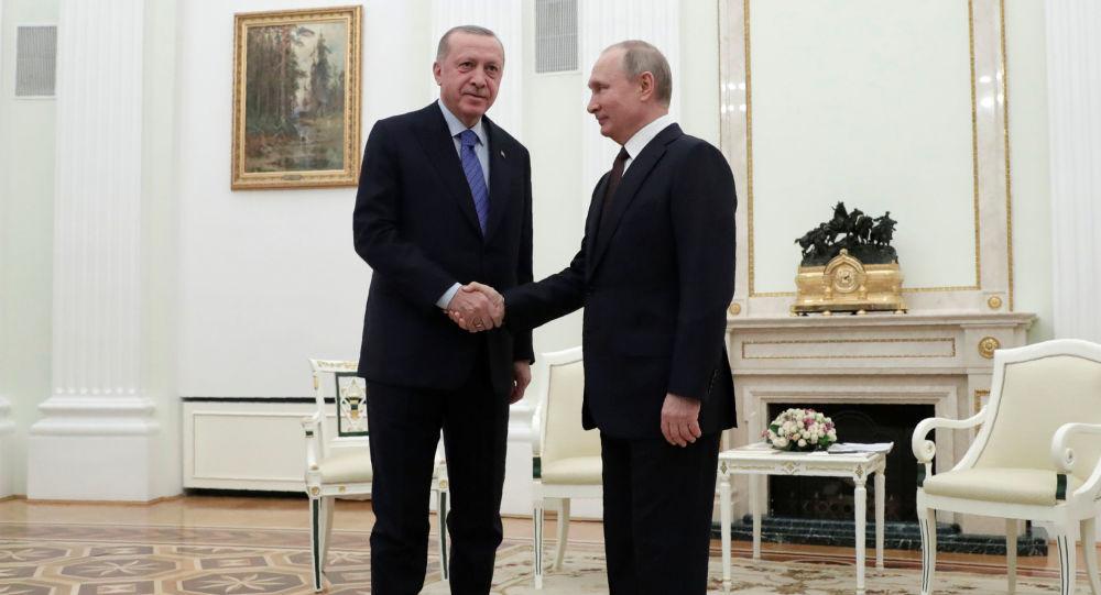 美国媒体谈普京在叙利亚战胜埃尔多安