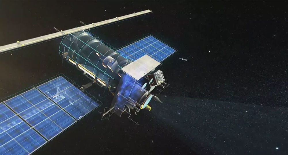 """媒体:美太空部队装备干扰中俄卫星的""""干扰器"""""""