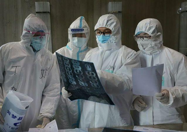 德国专家担心中国新冠病毒患者人数将再次开始增长