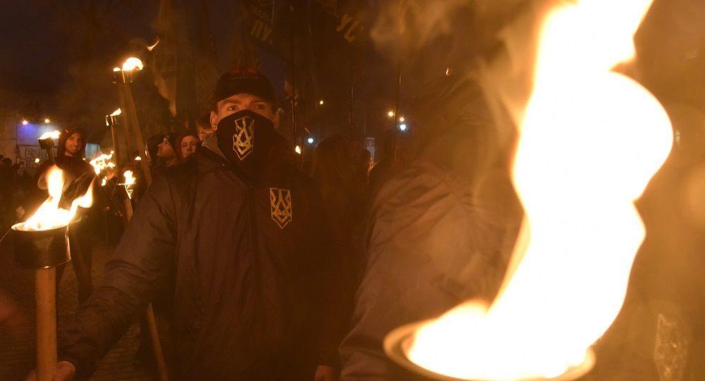 媒体:利沃夫激进分子呼吁烧毁教俄语的学校