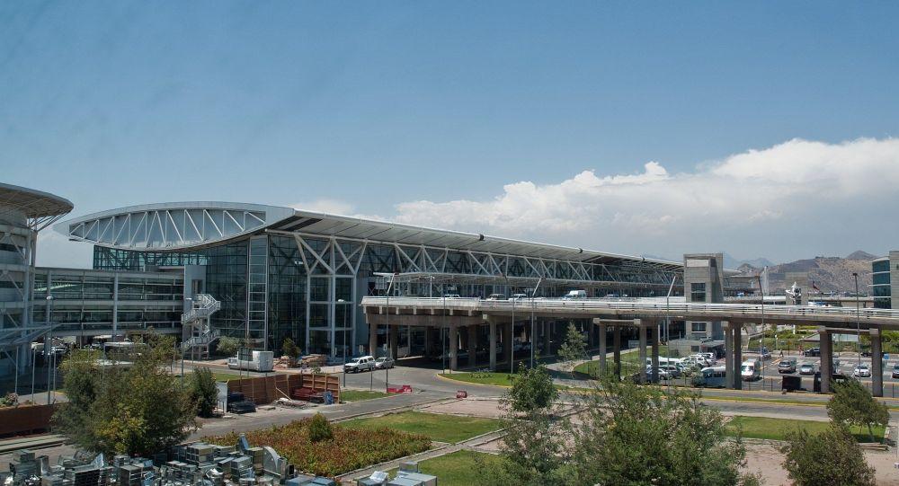智利首都圣地亚哥机场