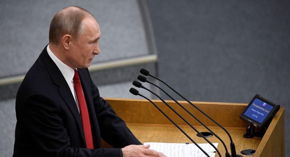 普京称俄罗斯会从容度过油价下跌难关