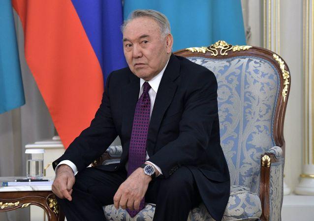 普京录制视频祝贺哈前总统纳扎尔巴耶夫八十岁寿辰