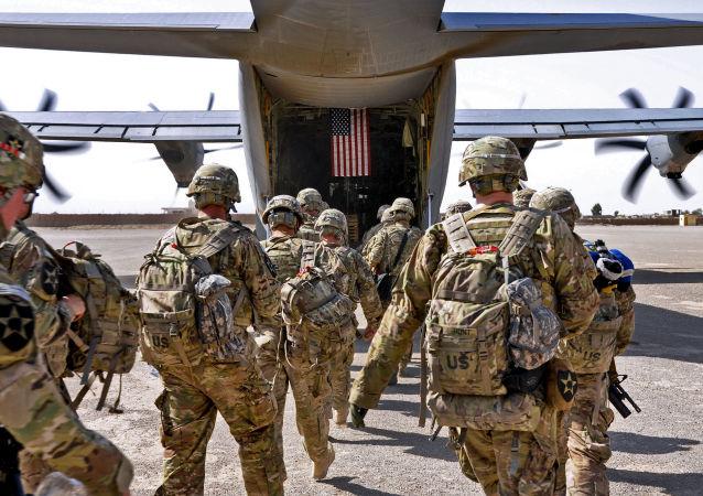 美国驻阿富汗军队