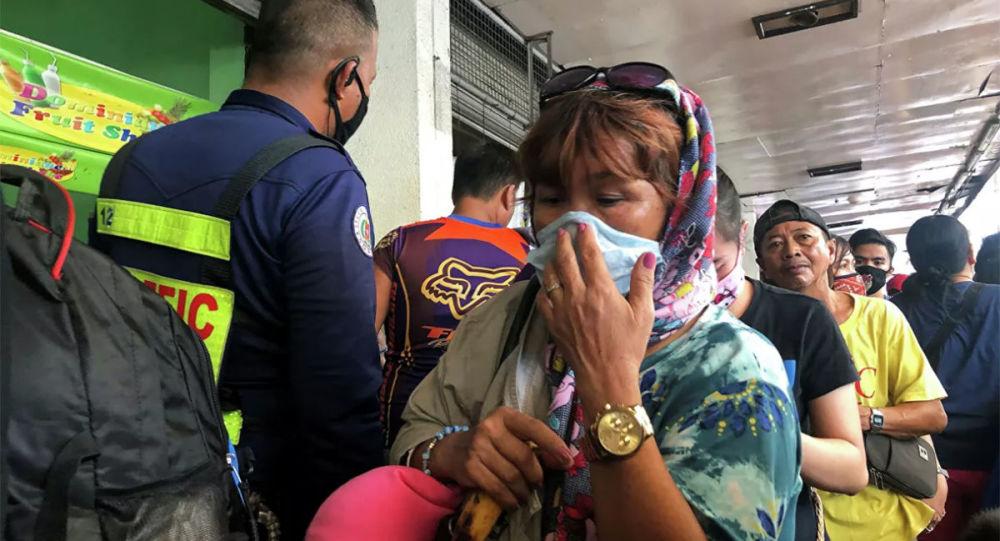 菲律宾新冠病毒感染新增病例过去一天创新的记录达到5092例