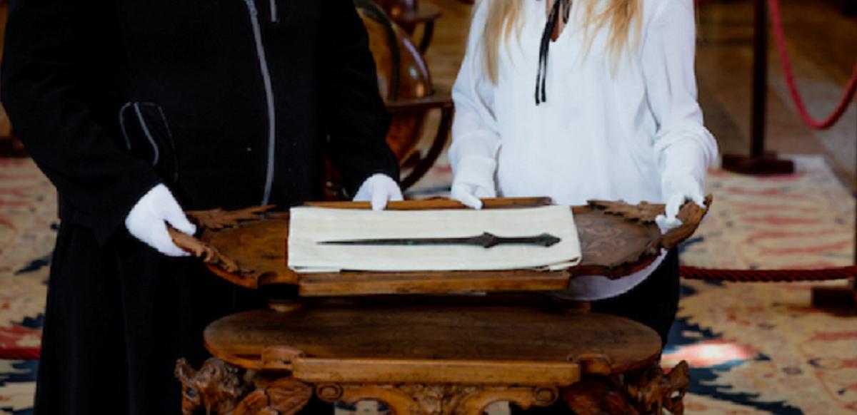 威尼斯修道院中的剑是世界上最古老的剑之一