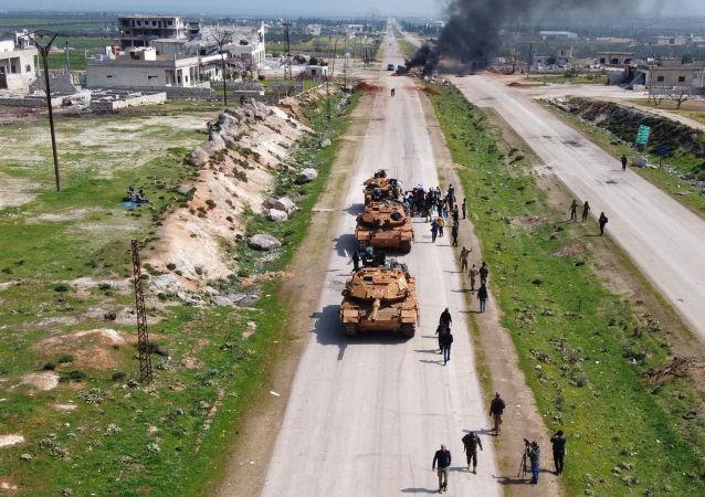 土耳其坦克在叙利亚