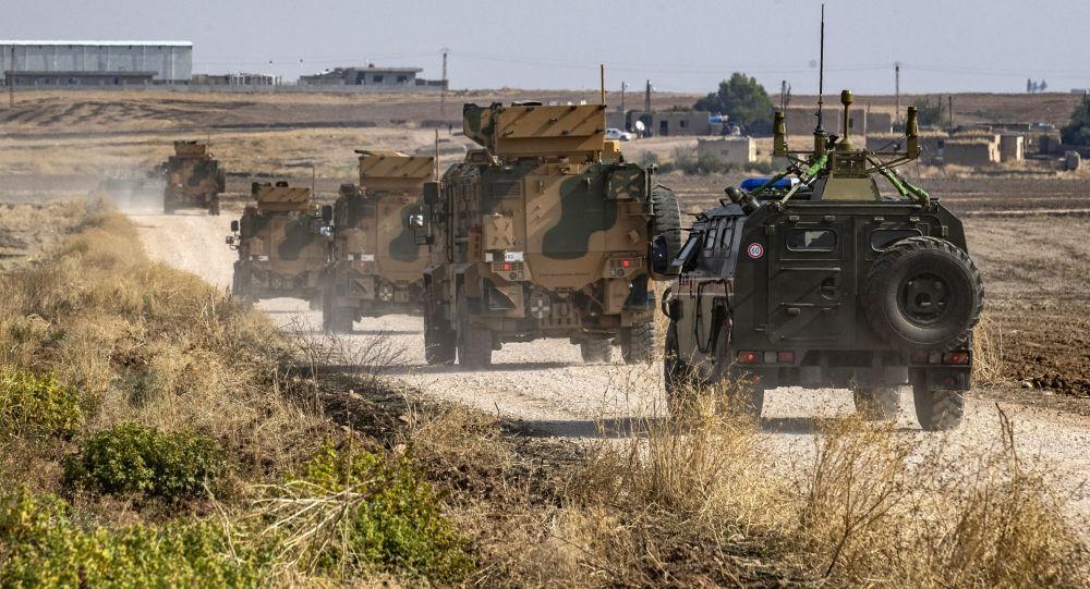 俄土第三次联合巡逻在伊德利卜举行