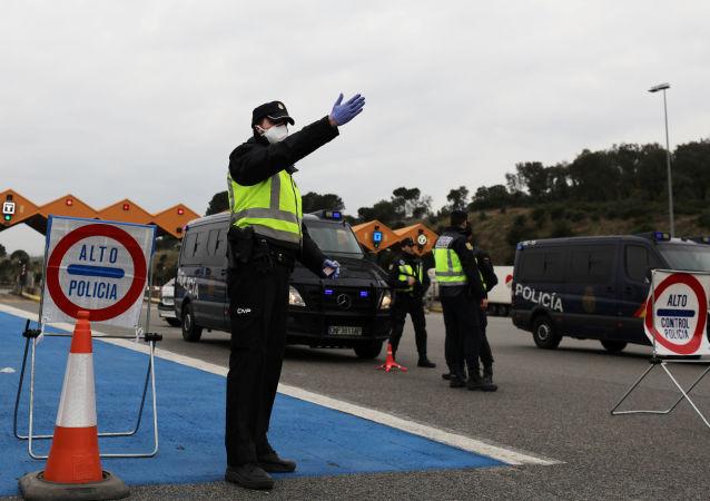 法国--西班牙边境