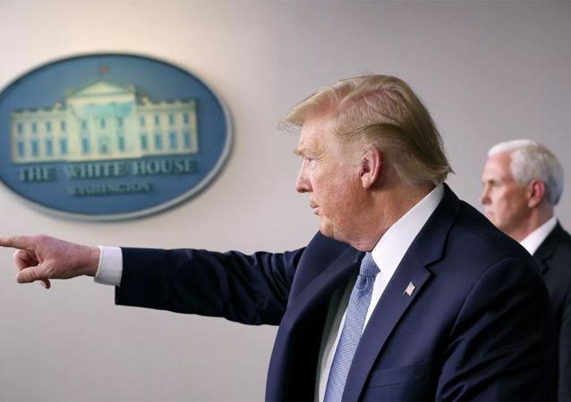 特朗普在白宫