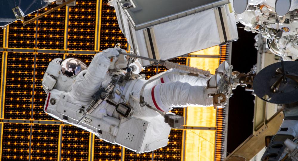 美国宇航局航天员从国际空间站参加大选投票